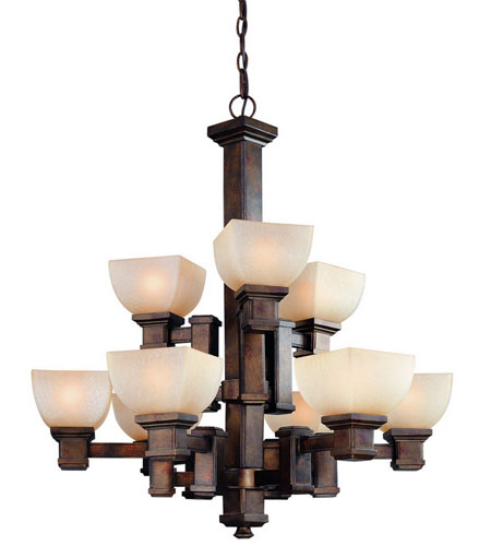 Dolan Designs Belltown 9 Light Chandelier in Sienna 2372-90 photo