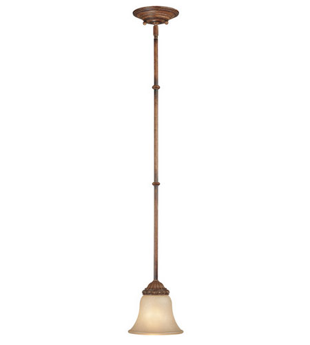 Dolan Designs Carlyle 1 Light Mini Pendant in Canyon Clay 2401-54 photo