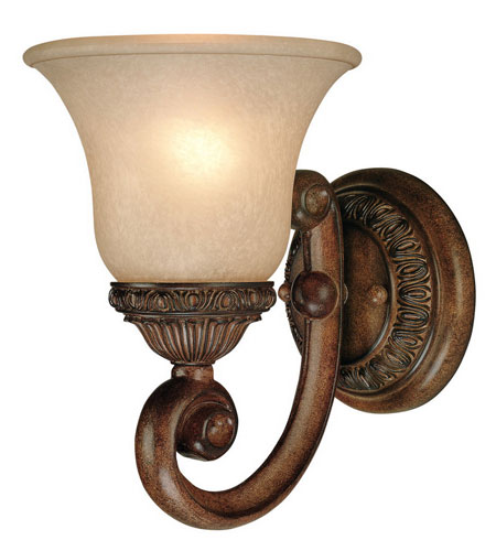 Dolan Designs Carlyle 1 Light Wall Sconce in Canyon Clay 2406-54 photo