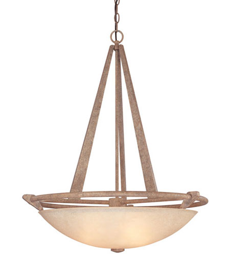 Dolan Designs Sunset Park 4 Light Pendant in Sonora 2584-55 photo