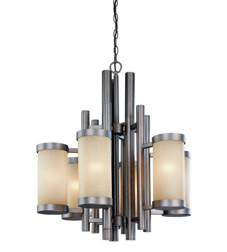 Dolan Designs 2620-66 Cortona 6 Light 25 inch Vista Chandelier Ceiling Light photo