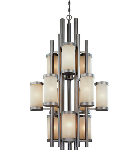 Dolan Designs Cortona 12 Light Chandelier in Vista 2623-66 photo