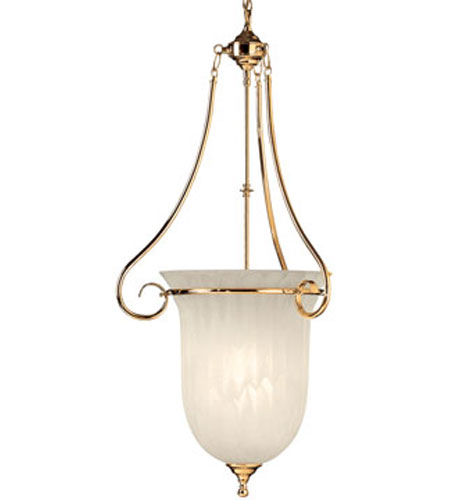 Dolan Designs Richland Polished Brass Pendant 270-14 photo