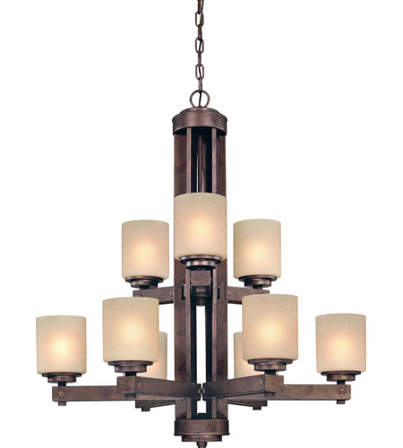Dolan Designs Sherwood 9 Light Chandelier in Sienna 2702-90 photo