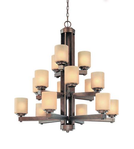 Dolan Designs Sherwood 15 Light Chandelier in Sienna 2703-90 photo
