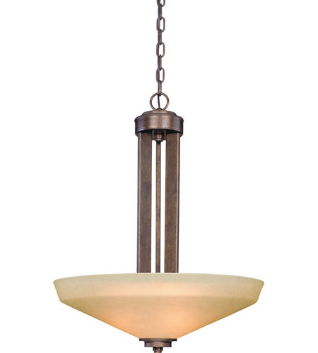 Dolan Designs 2704-90 Sherwood 3 Light 22 inch Sienna Pendant Ceiling Light photo