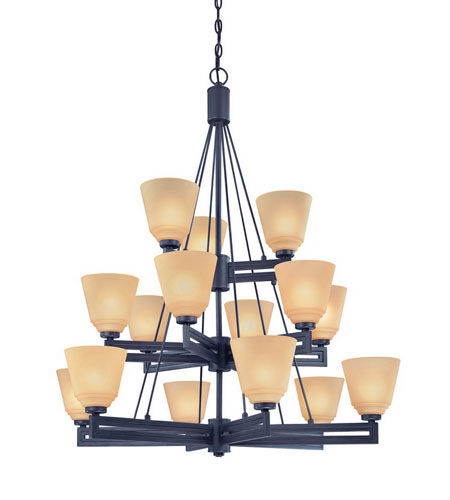 Dolan Designs Olympic 15 Light Chandelier in Bolivian 2713-78 photo