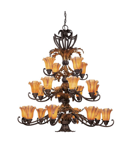 Dolan Designs Belle Fleur 20 Light Chandelier in Acorn 2773-76 photo