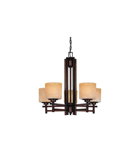 Dolan Designs Roxbury 5 Light Chandelier in English Bronze 2810-133 photo