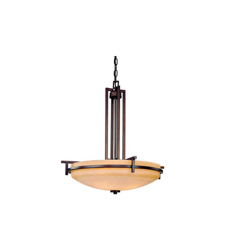 Dolan Designs Roxbury 4 Light Pendant in English Bronze 2814-133 photo