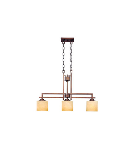 Dolan Designs Roxbury 3 Light Island Light in English Bronze 2819-133 photo