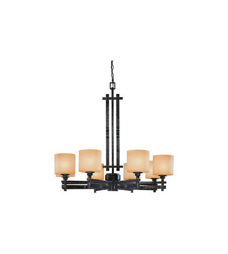 Dolan Designs Prairie 8 Light Chandelier in Mission 2860-74 photo