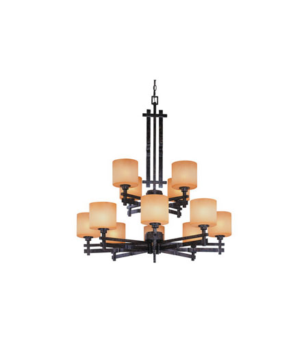 Dolan Designs Prairie 12 Light Chandelier in Mission 2862-74 photo