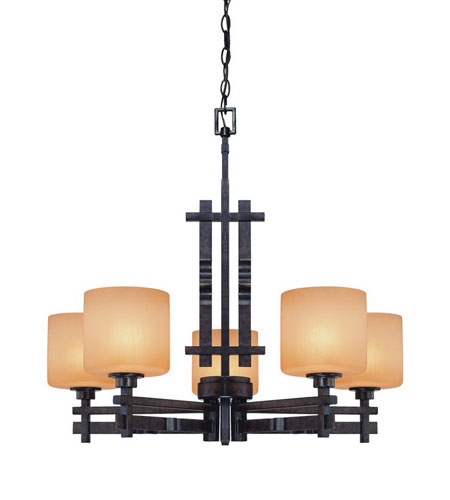 Dolan Designs Prairie 5 Light Chandelier in Mission 2867-74 photo