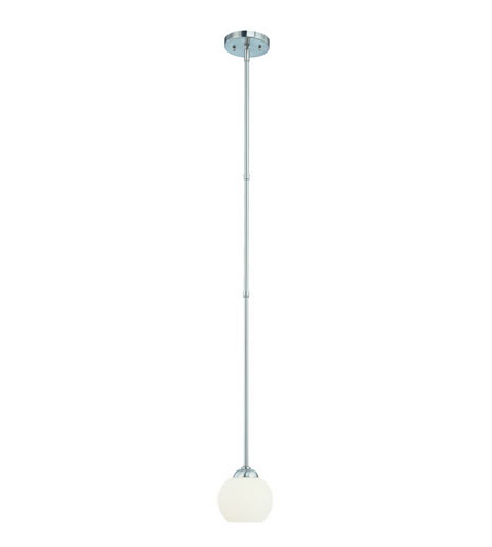 Dolan Designs 2871-09 Cathedral 1 Light 6 inch Satin Nickel Mini Pendant Ceiling Light  photo