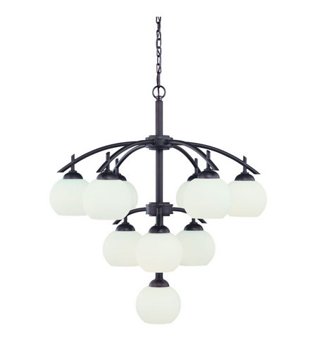 Dolan Designs 2872-78 Cathedral 10 Light 29 inch Bolivian Chandelier Ceiling Light photo