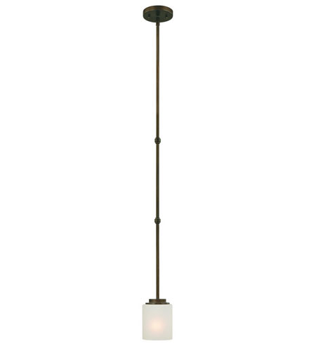 Dolan Designs Multnomah 1 Light Mini Pendant in Heirloom Bronze 2881-62 photo