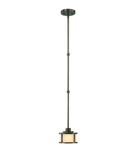 Dolan Designs Bridgetown 1 Light Mini Pendant in Heirloom Bronze 2891-62 photo