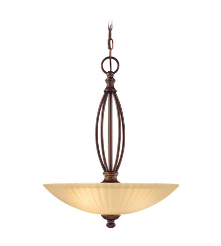 Dolan Designs Jasmine 3 Light Pendant in English Bronze 2924-133 photo
