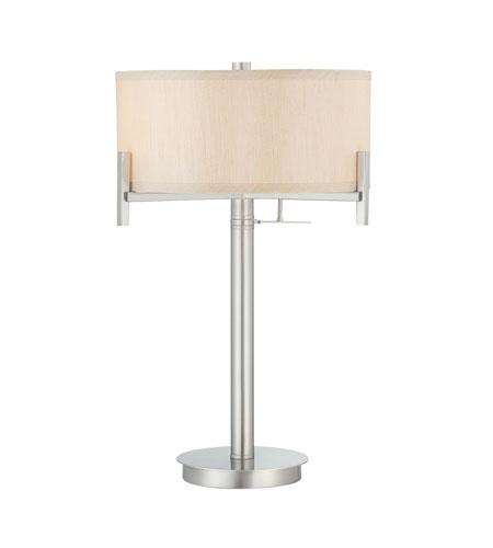 Dolan Designs 2948 09 Signature 22 Inch 60 Watt Satin Nickel Table Lamp  Portable Light