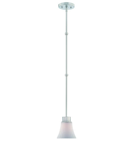 Dolan Designs Teton 1 Light Mini Pendant in Satin Nickel 2981-09 photo