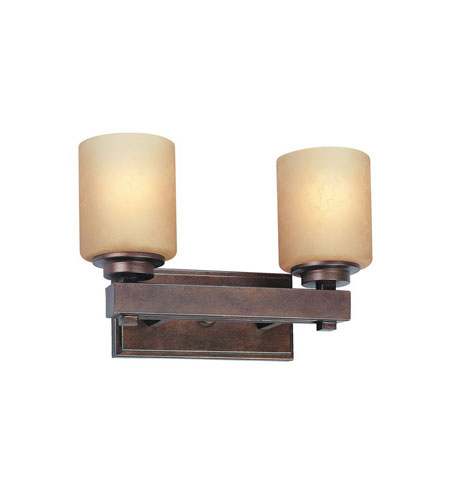 Dolan Designs 3112-90 Sherwood 2 Light 15 inch Sienna Bath Vanity Wall Light  photo