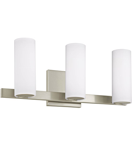 Satin Nickel Radiance Bathroom Vanity Lights