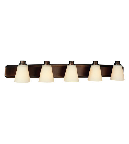 Dolan Designs 3405-62 Southport 5 Light 40 inch Heirloom Bronze Bath Vanity Wall Light photo