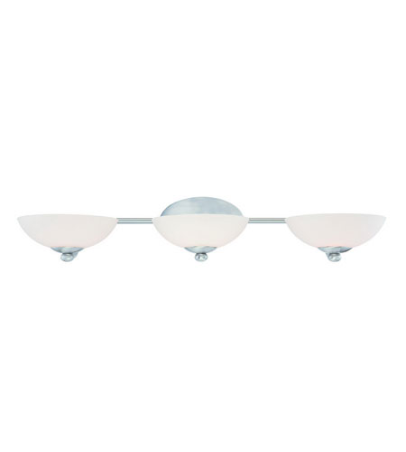 Dolan Designs Rainier 3 Light Bath Vanity in Satin Nickel 3903-09 photo