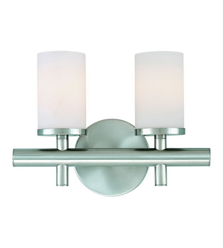 Dolan Designs Alto 2 Light Bath Vanity in Satin Nickel 432-09 photo
