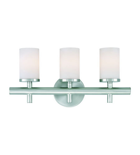 Dolan Designs Alto 3 Light Bath Vanity in Satin Nickel 433-09 photo