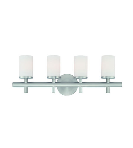Dolan Designs Alto 4 Light Bath In Satin Nickel 434-09 photo