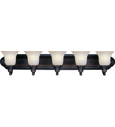 Dolan Designs 470-78 Richland 5 Light 36 inch Bolivian Bath Vanity Wall Light in Carmelized photo