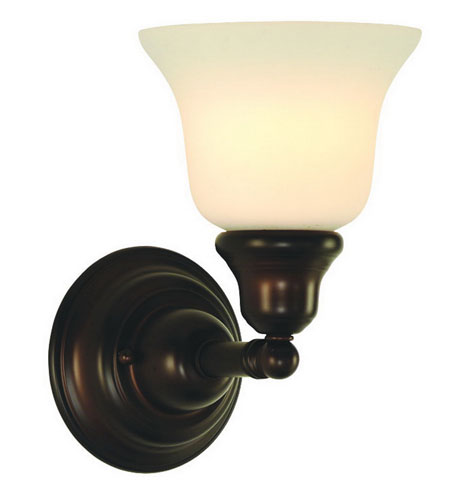 Dolan Designs Brockport 1 Light Wall Sconce in Royal Bronze 491-30 photo