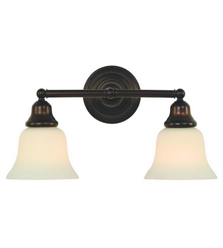 Dolan Designs 492-30 Brockport 2 Light 17 inch Royal Bronze Bath Vanity Wall Light photo