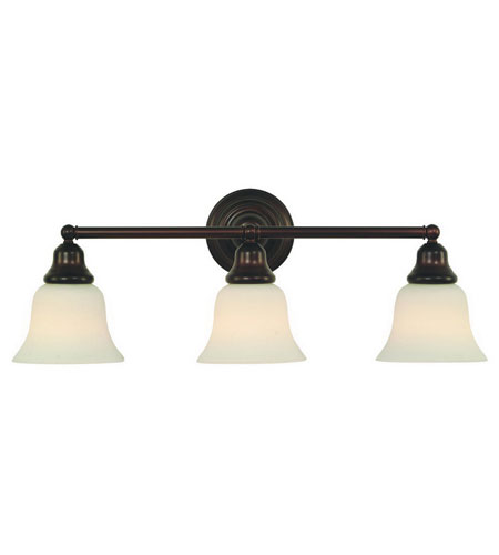 Dolan Designs 493-30 Brockport 3 Light 25 inch Royal Bronze Bath Vanity Wall Light photo
