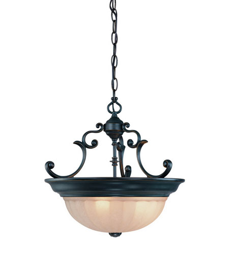 Dolan Designs Richland 3 Light Pendant in Bolivian 527-78
