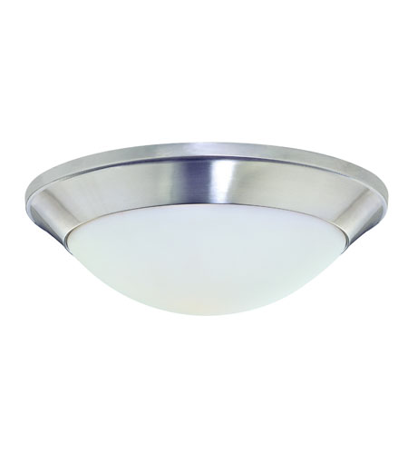 Dolan Designs 5401-09 Rainier 1 Light 12 inch Satin Nickel Flushmount Ceiling Light photo