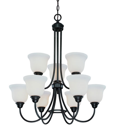 Dolan Designs Willow Point 9 Light Chandelier in Olde World Iron 542-34 photo