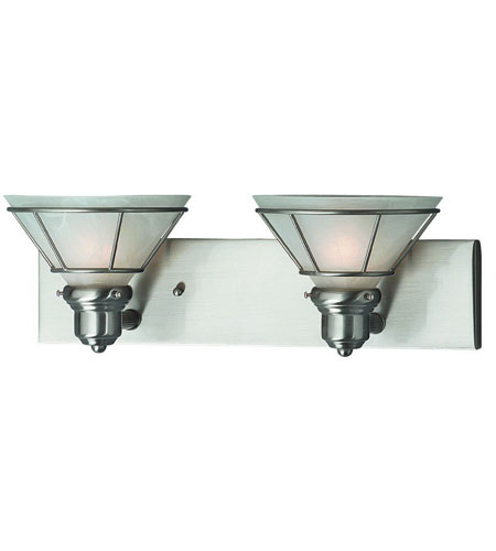 Dolan Designs 632-09 Craftsman 2 Light 18 inch Satin Nickel Bath Vanity Wall Light photo