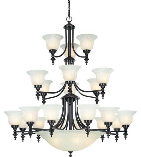 Dolan Designs 663-30  sc 1 st  Lighting New York & Dolan Designs 663-30 Richland 24 Light 44 inch Royal Bronze ...