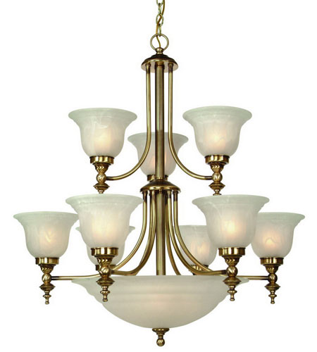Dolan designs 664 18 richland 12 light 30 inch old brass chandelier dolan designs 664 18 richland 12 light 30 inch old brass chandelier ceiling light in alabaster mozeypictures Image collections
