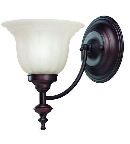 Dolan Designs 667-30 Richland 1 Light 7 inch Royal Bronze Wall Sconce Wall Light in Alabaster photo