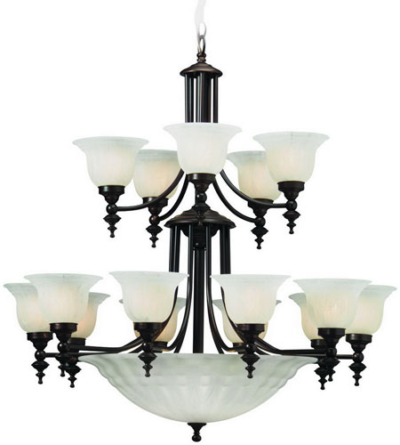 Dolan Designs Richland 18 Light Chandelier in Royal Bronze 668-30 photo