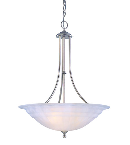 Dolan Designs 669-09 Richland 3 Light 28 inch Satin Nickel Pendant Ceiling Light in Alabaster photo