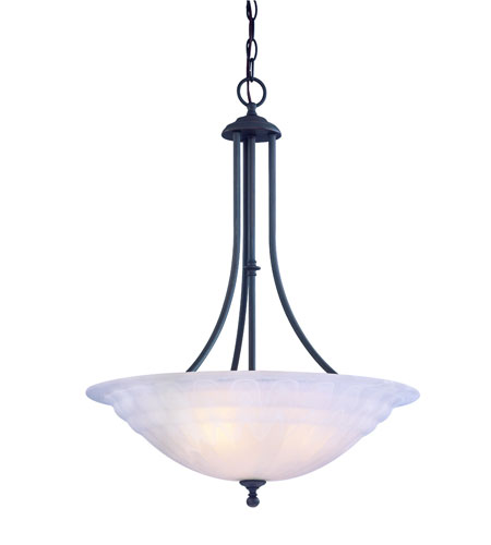 Dolan Designs Richland 3 Light Pendant in Royal Bronze 669-30 photo