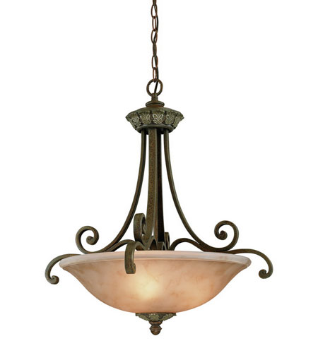 Dolan Designs Windsor 3 Light Pendant in Sante Fe 823-38 photo