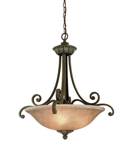 Windsor 3 Light 24 Inch Sante Fe Pendant Ceiling