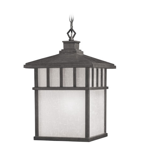 Dolan Designs Barton 1 Light Exterior Hanging Lantern in Olde World Iron 9114-34 photo