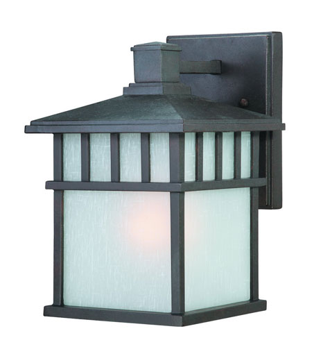 Dolan Designs Barton 1 Light Exterior Wall Lantern in Olde World Iron 9115-34 photo
